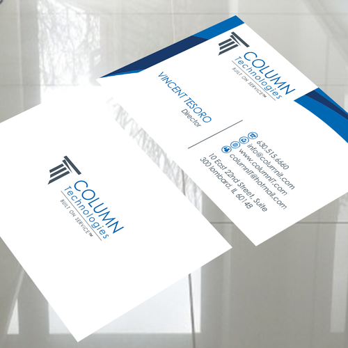 Business Card Design as Part of a Re-brand