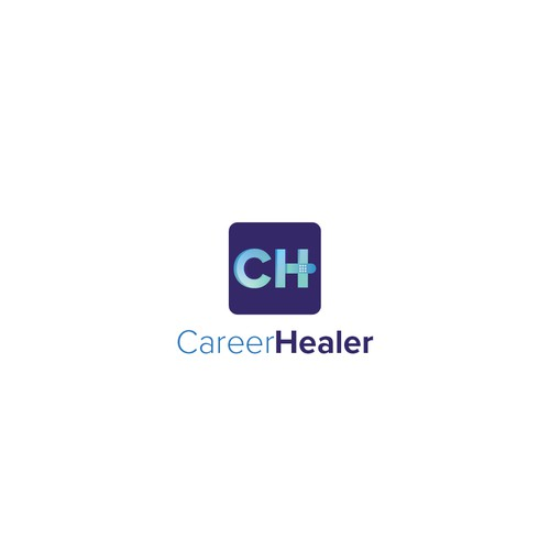 CareerHealer logo design