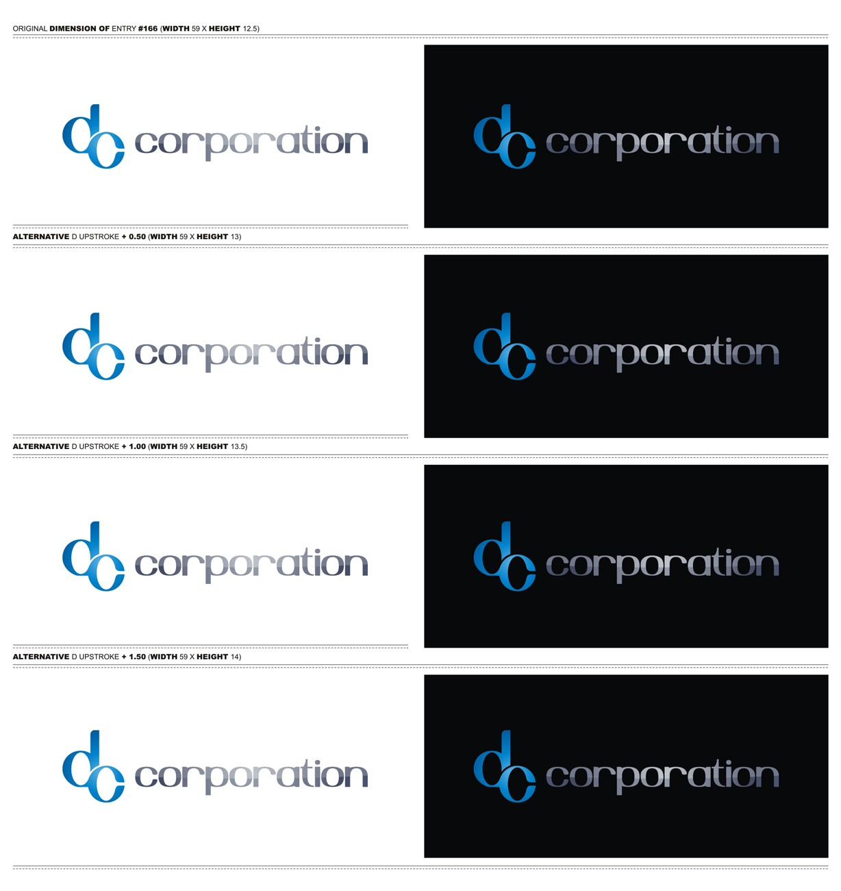 Logo with DC/  or  dc/  needed for DC Corporation
