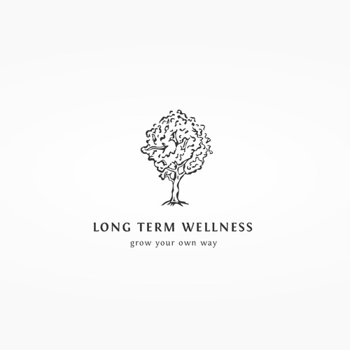 Delicate Logo for a wellness philosophy concept