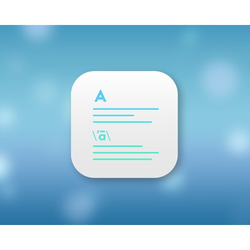 iOS & Apple Watch icon for Dictionary app