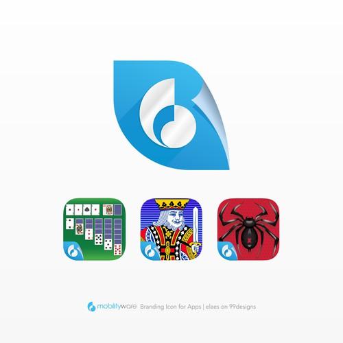 Mobilityware Label Icon Design