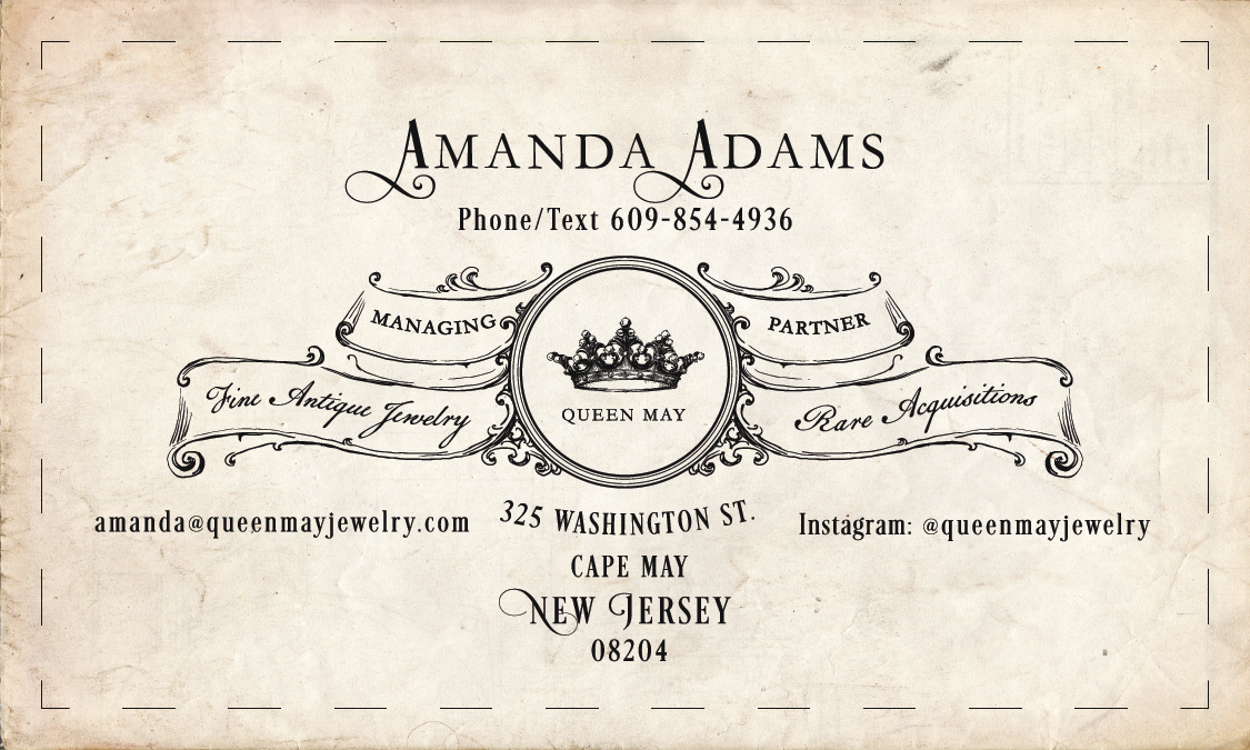 new business cards, color and dimension change
