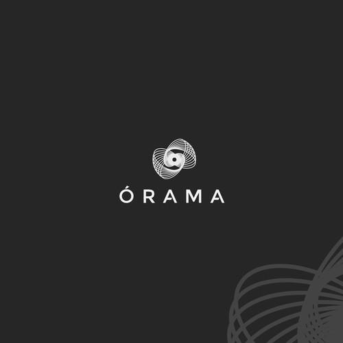 Geometrical eye for a web agency