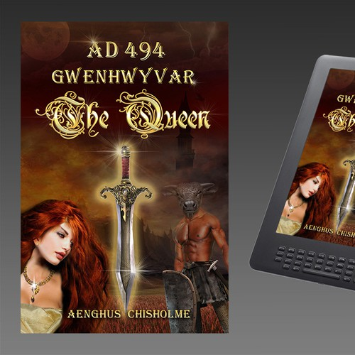 Create the next book or magazine cover for Aenghus Chisholme