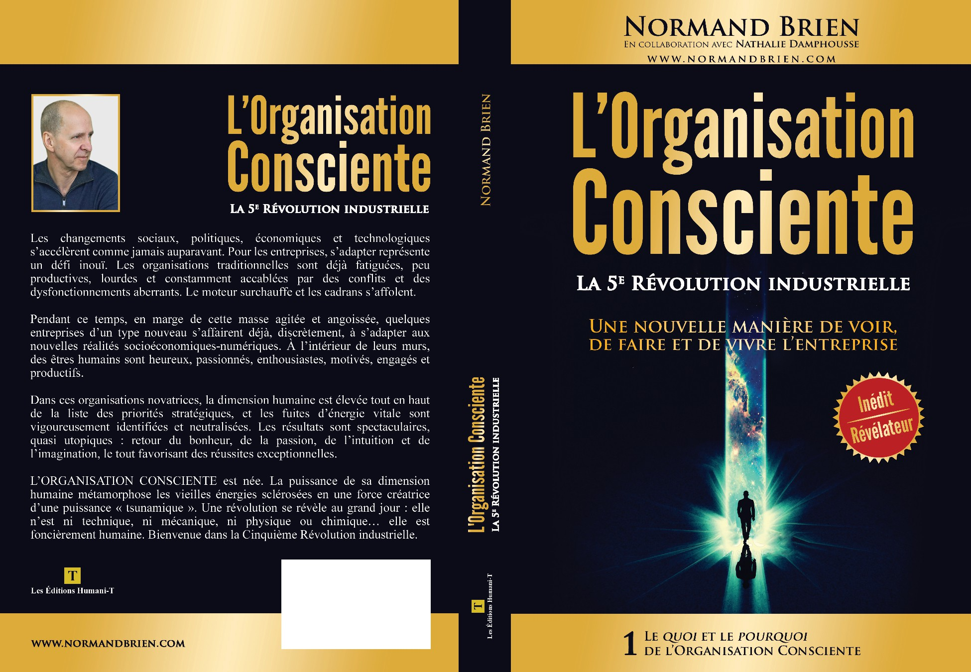 Create an empowering cover: Revolutionary Business Book about Consciousness in the business place.