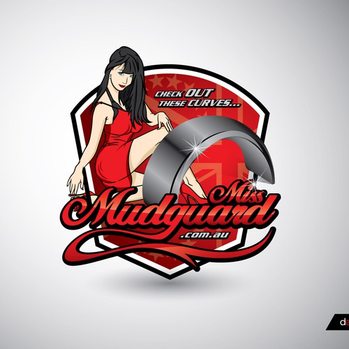 logo for Miss Mudguard