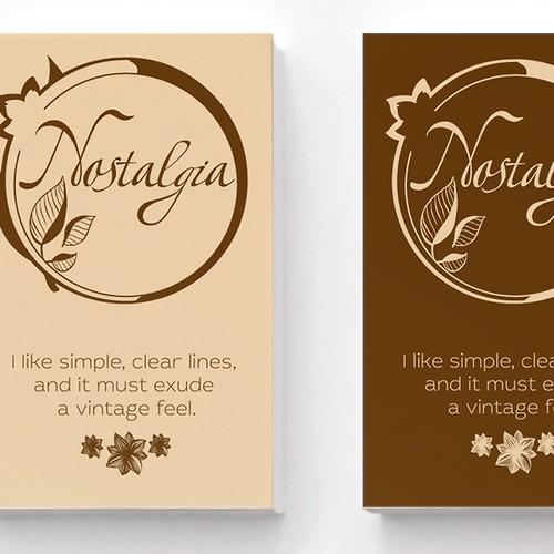 Design a logo for my vintage-themed journal/sketchbook brand