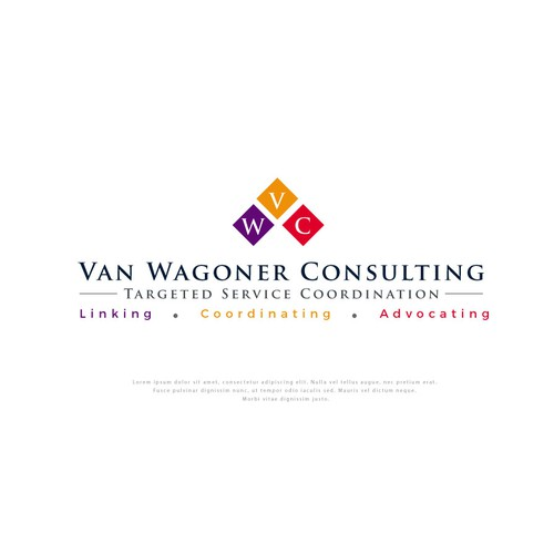 Logo concept for VanWagoner Consulting