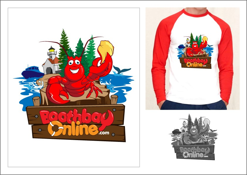 Maine Coastal Town needs new logo with a fun friendly lobster and friends!