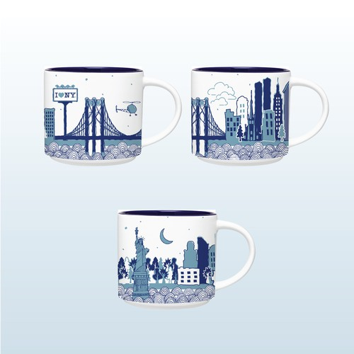 Mug New York skyline