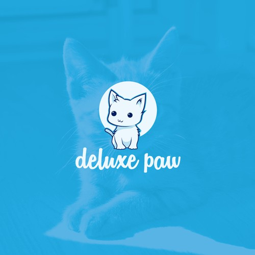 logo proposal for deluxe paw