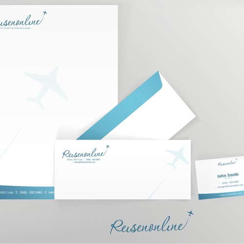 Reisenonline  needs a  stationery