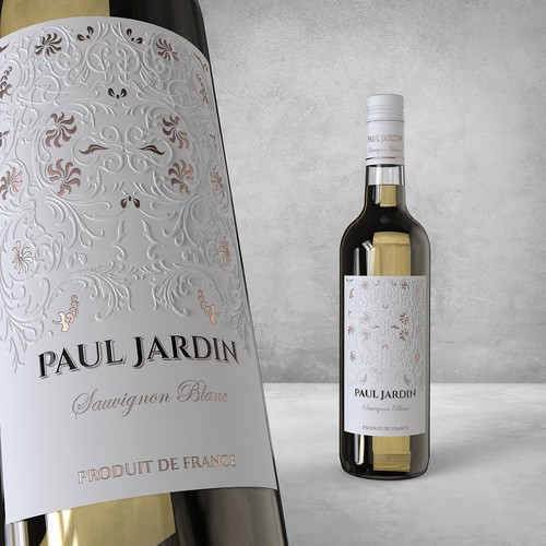 French wine label for Paul Jardin