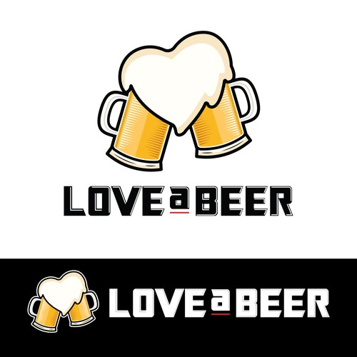 Love a Beer Logo Concept