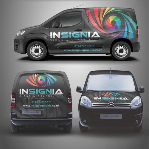 Insignia Van Wrap