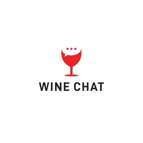 WINE CHAT logo