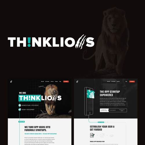 ThinkLion Website Design