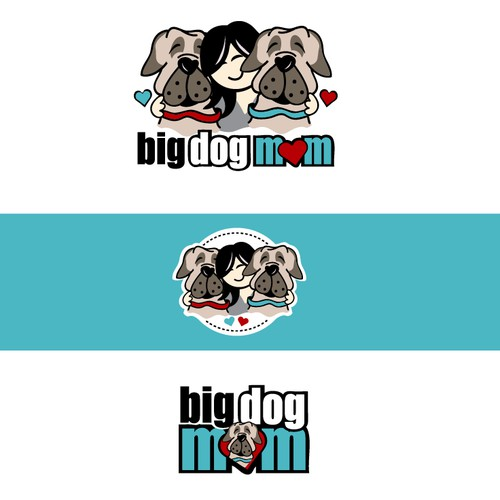 Big Dog Mom Logo