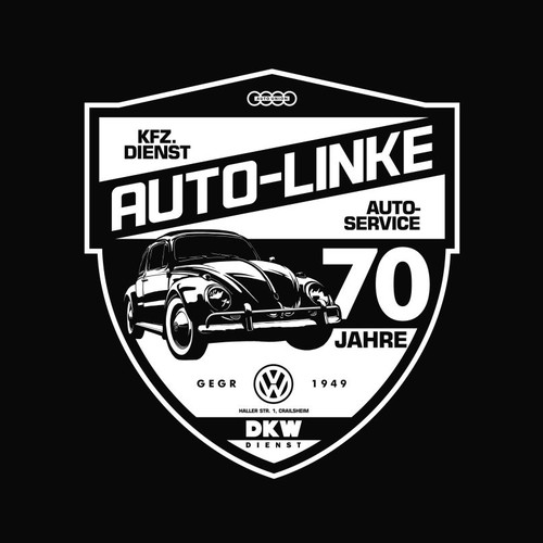 Merch Design for German Auto Service Co.