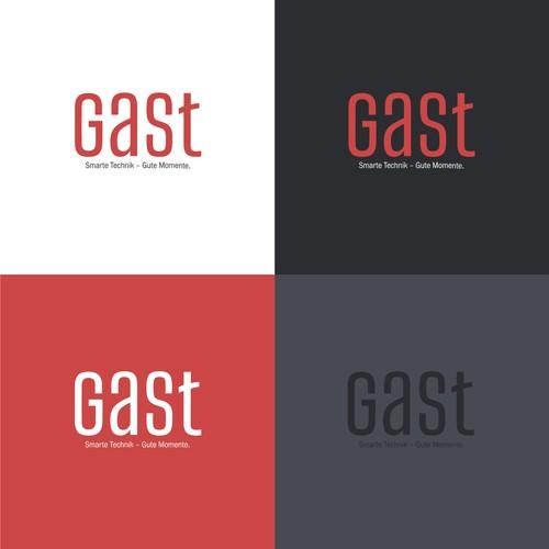 Logo concept for GAST Automaten & Service