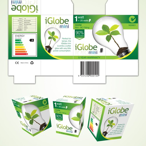 Eco bulb package