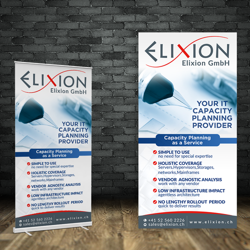 IT, Roll-Up Banner