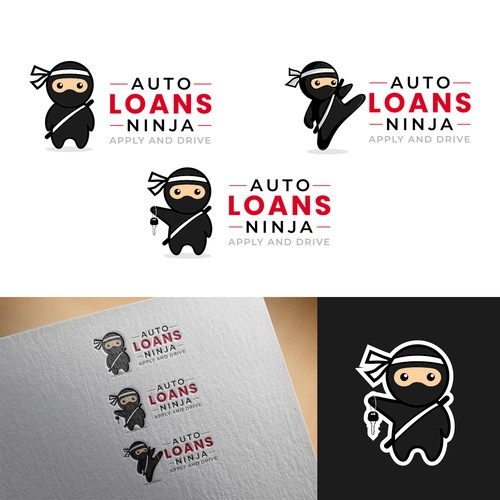 Cute logo concept for a Car Rental business