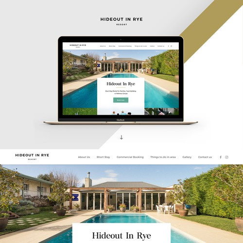 Website For Stylish Holiday Rental