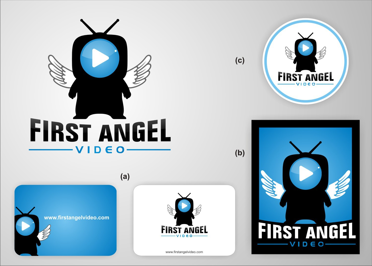 A designer's Dream Project??! First Angel Video wants a new logo!!