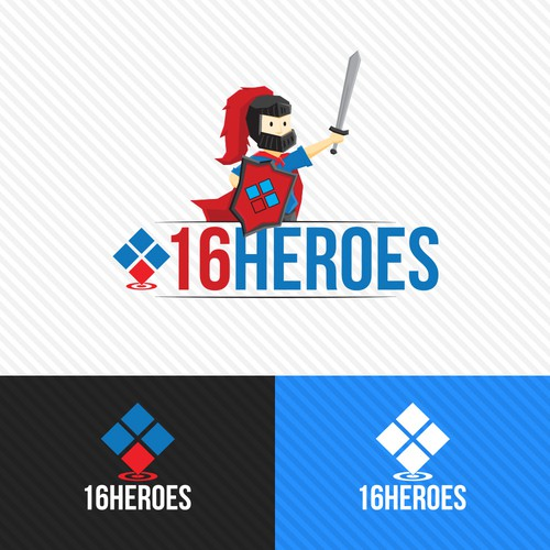 16Heroes Logo Entry