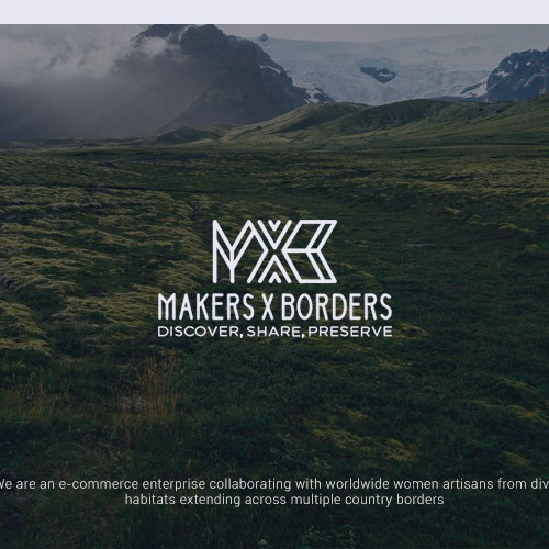Makers X Borders - An ethical e-commerce brand