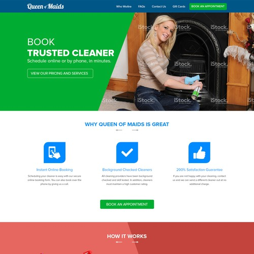 Create an easier way for a home cleaning service in Bangkok