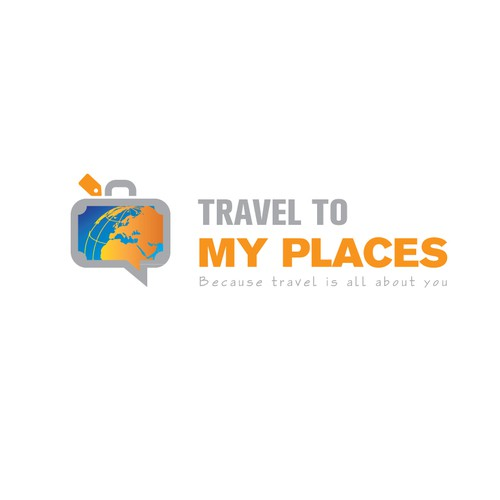 Bold logo for Travel Company