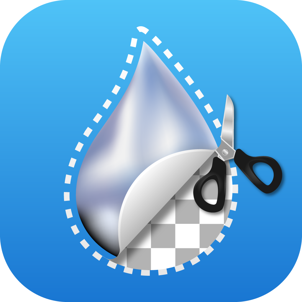 App icon for a still image pro cutout tool