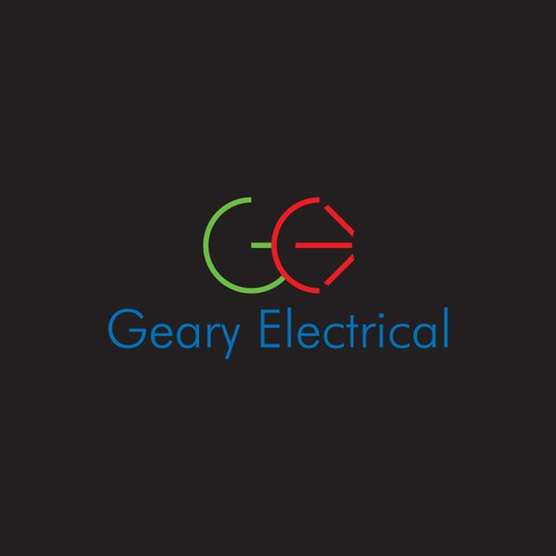 Logo concept for electrical industry.