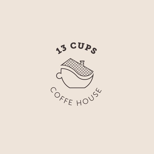 Logo concept for coffe house