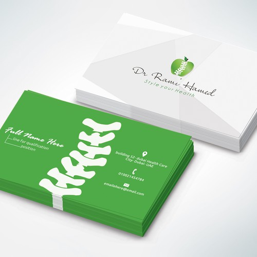 business card for doctor clinic