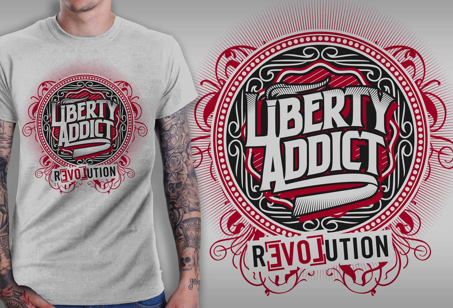 LIBERTY themed t-shirt needed.