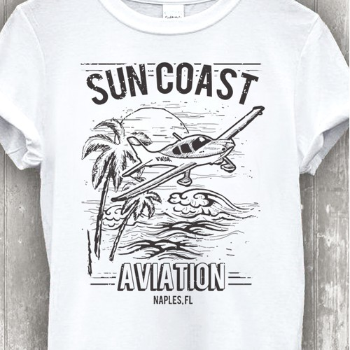 Retro Design for an Aviation School in Florida.