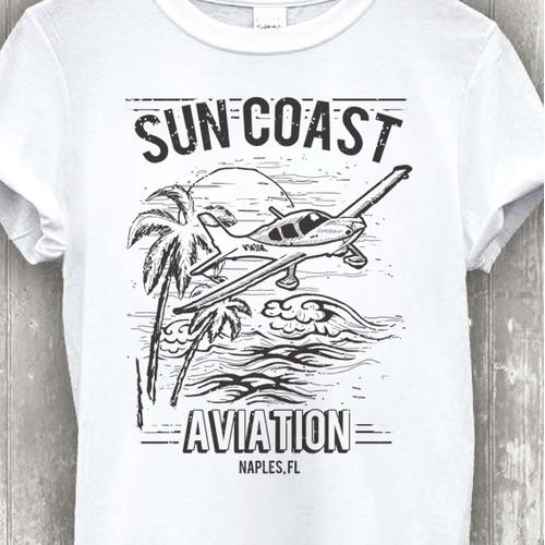 Retro Design for an Aviation School in Florida.
