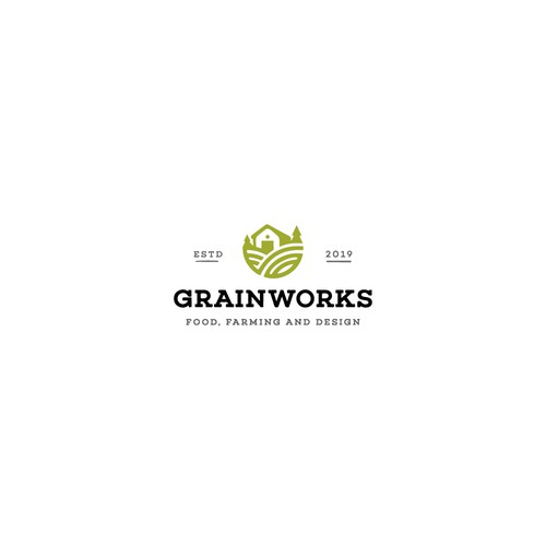 Logo for Grain Works