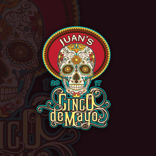Cinco de Mayo T-shirt design