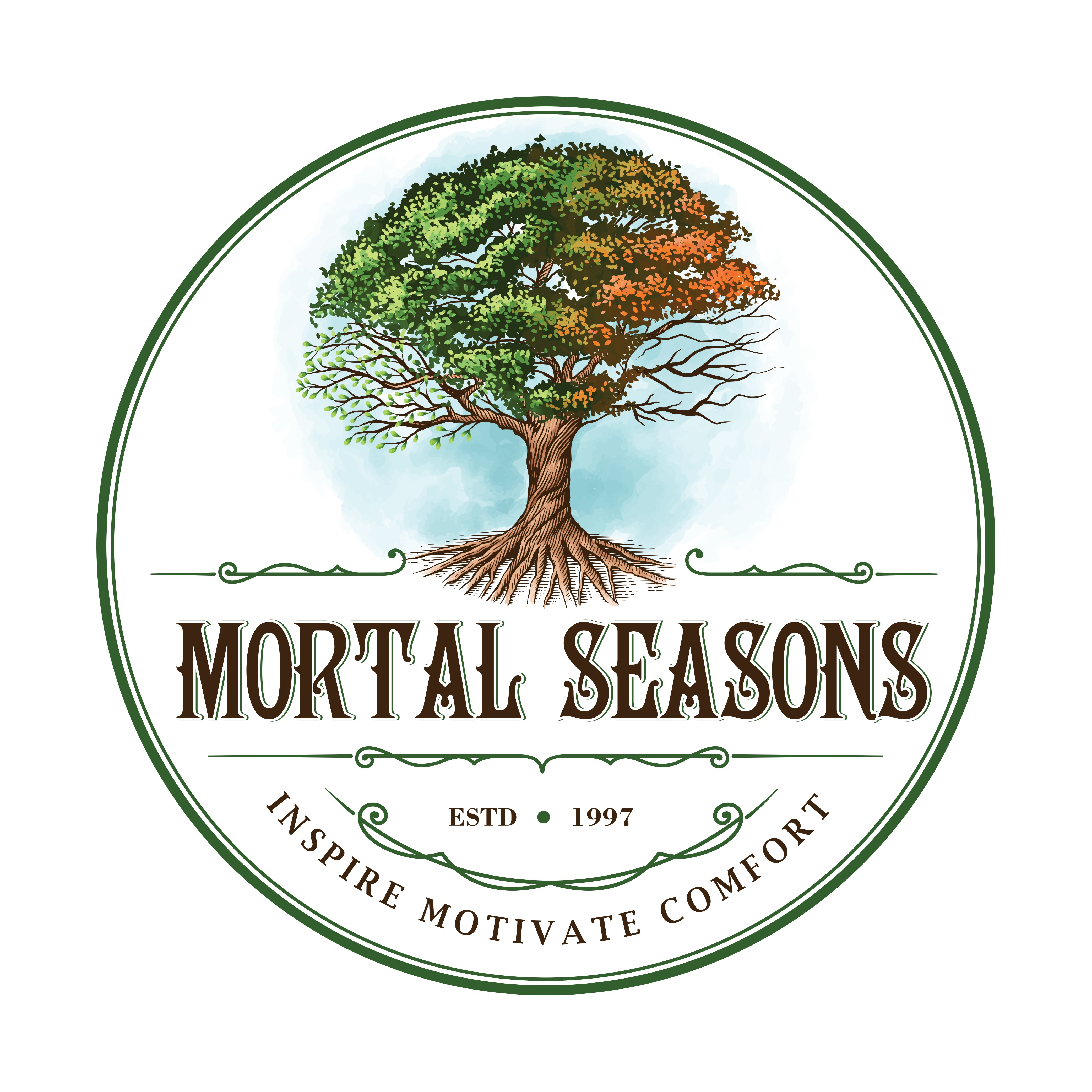 Revision to MORTAL SEASONS logo