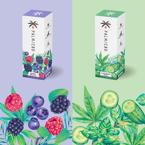 CBD packaging design