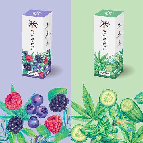 CBD packaging design