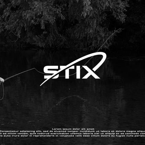 Logo design for fishing rods brand lines