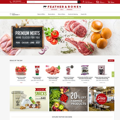 E COMMERCE FOR GROCERY & DELI