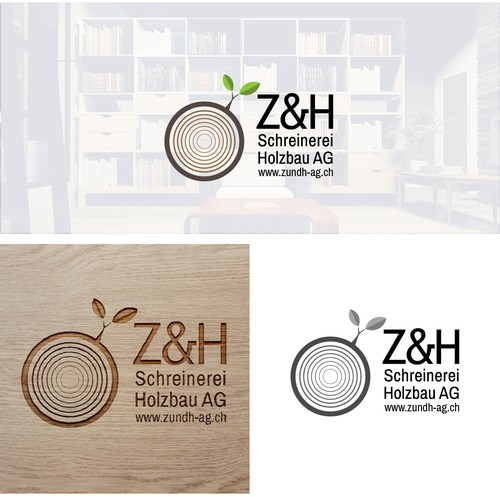 logo for woodworkers in Switzerland