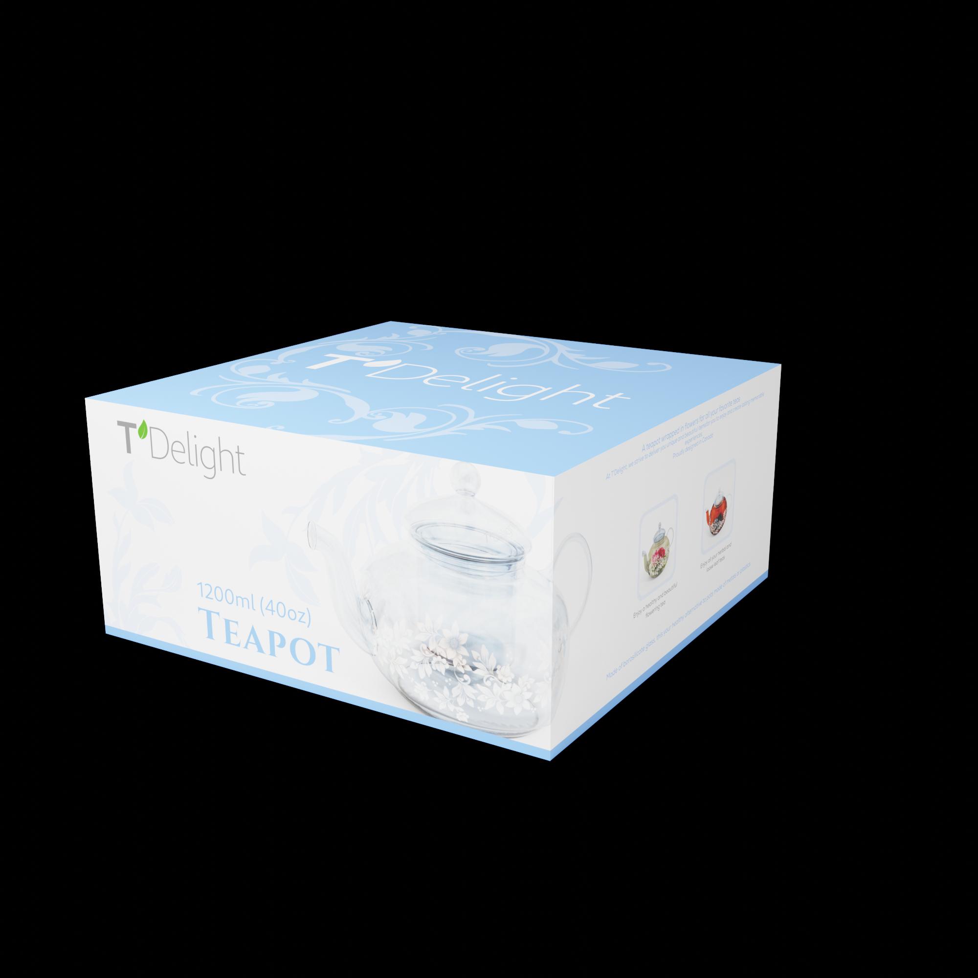 Glass Teapot Packaging